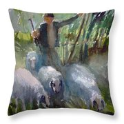 Shepherd... Throw Pillow