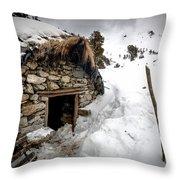Shepherd Hut Throw Pillow