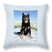 Shepherd Mix Timmy Throw Pillow