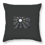 Shepherds Field Church Ceiling Throw Pillow