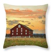 Sherfy Barn Throw Pillow