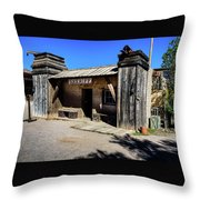 Sheriff Office - Old Tucson Throw Pillow