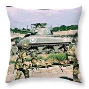 Sherman Advance Throw Pillow