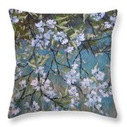 Sherry Flower 1 Throw Pillow