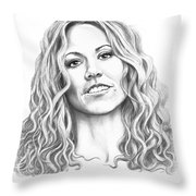 Sheryl Crow Throw Pillow