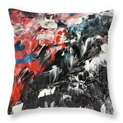She's All Eyes And Tempest Throw Pillow