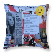 She's Leaving Home Throw Pillow