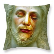 Shesus Throw Pillow