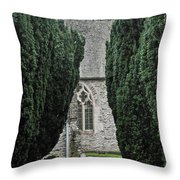 Sheviok Church Throw Pillow