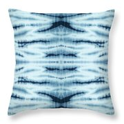 Shibori Throw Pillow