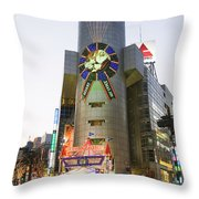 Shibuya Throw Pillow