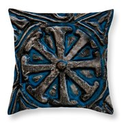 Shield Of Time Throw Pillow