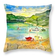 Shieldaig In Scotland 03 Throw Pillow