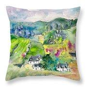 Shieldaig In Scotland 06 Throw Pillow