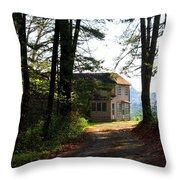 Shields Farm Throw Pillow