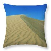 Shifting Dune Throw Pillow