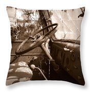 Shifting Gears...pennsylvania Ave. Wilkes Barre Pa. Throw Pillow