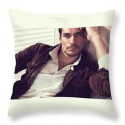 Shifting Of Homes In India Throw Pillow