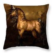 Shikoba Choctaw Horse Throw Pillow