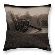 Shilo Artillery Battery Throw Pillow