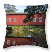 Shimanek Bridge Throw Pillow