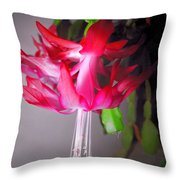 Shimmering Beauty Throw Pillow