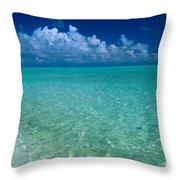 Shimmering Ocean Throw Pillow