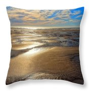 Shimmering Sands Throw Pillow