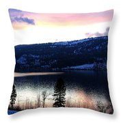 Shimmering Waters Throw Pillow