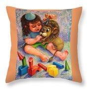 Shimshon Throw Pillow