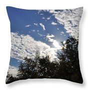 Shine And Smile Throw Pillow