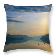 Shine Brightly Throw Pillow