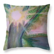 Shine Thru Throw Pillow