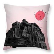 Shinigami House Throw Pillow
