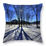 Shining Through Throw Pillow