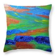 Shinning Sea Throw Pillow
