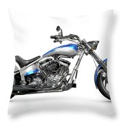 Shiny Chopper Throw Pillow