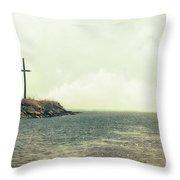 Ship Mast Memorial  Throw Pillow