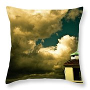 Ship Spire Throw Pillow