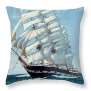 Ship Waimate - Detail Throw Pillow