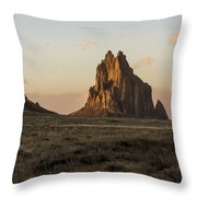 Shiprock 2 - North West New Mexico Throw Pillow