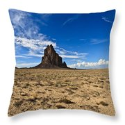 Shiprock #6 Throw Pillow