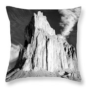 Shiprock New Mexico Throw Pillow