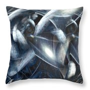 Ships Of Orion Throw Pillow