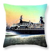 Shipshape 1 Throw Pillow
