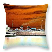 Shipshape 2 Throw Pillow