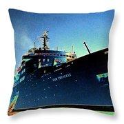 Shipshape 9 Throw Pillow