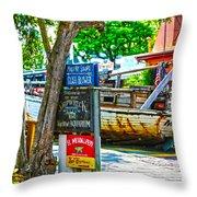 Shipwreck Museum Key West Florida Throw Pillow