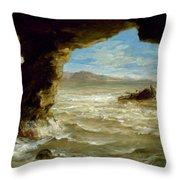 Shipwreck On The Coast  Throw Pillow