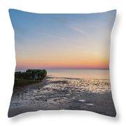 Shipwreck Panorama  Throw Pillow